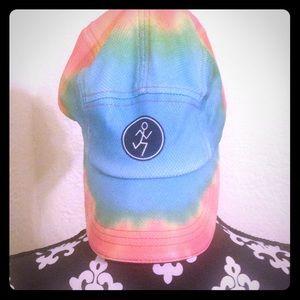 Tie dye Running hat